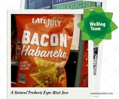 Why Jacqueline Day of My Vegan Journal loves the new Late July Bacon Habanero Tortilla Chips