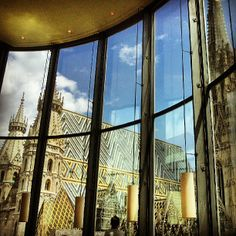 The DO & CO restaurant offers an alternative view of St. Stephen's Cathedral; the seventh-floor dining room sits eye level with its bells. If you can't secure a reservation at this popular spot, make sure to grab a drink at Onyx Bar, which is located one floor below the restaurant.