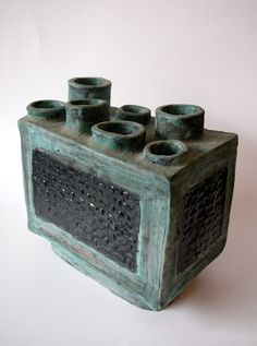 Multi Opening Vase, California Pottery |Pinned from PinTo for iPad|