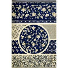 Examples of Chinese ornament, selected from objects in the South Kensington Museum and other collections : [estampe] / by Owen Jones Chinese Design, Chinese Art, Chinese Ornament, Kensington, Chinese Wallpaper, Art Chinois, Motif Vintage, Chinese Patterns, Art Asiatique