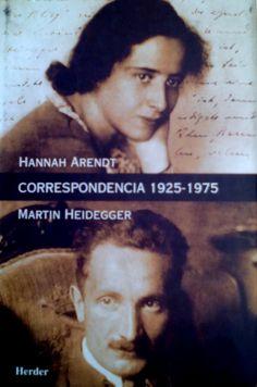 HANNAH ARENDT CORRESPONDENCIA GE 836.6 A681