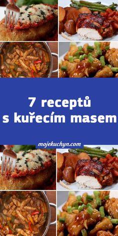 7 receptů s kuřecím masem Low Carb, Pizza, Beef, Meat, Steak