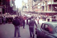 Melbourne 1956 Olympics 1956 Olympics, It's Wonderful, Melbourne Victoria, Street Mall, Local History, Melbourne Australia, Back In The Day, Historical Photos, Old Photos