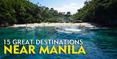 15 CHEAP BUT AWESOME Destinations Near MANILA, Philippines | The Poor Traveler
