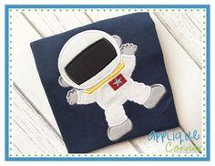 Astronaut Applique Design