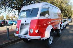 https://flic.kr/p/AqwzrC | Goélette Sinpar 4x4 | Renault Goélette 4x4 cet après-midi à Toulouse