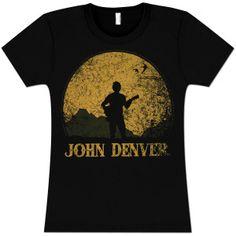 John Denver - Silhouette Women's T-Shirt