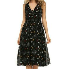 Sale! Free People Cutout laceup dress Super cute. Worn once. Size med. Fits a little loose. Fully lined Free People Dresses Midi