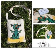 my lovely baby dragon,a bag for all the ages! ;-) https://www.facebook.com/Vasilikicreates