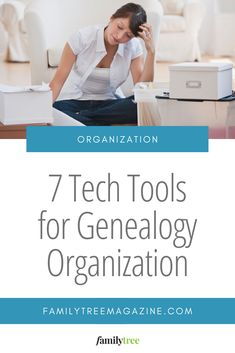 These seven tech tools help you turn your archive of old photos, papers and artifacts into an organized research resource. Genealogy Organization, Tool Organization, Your Family, Ancestry, Family History, Research, Old Photos, Archive, Tech