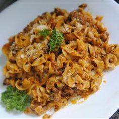 Ground Beef Noodle Casserole