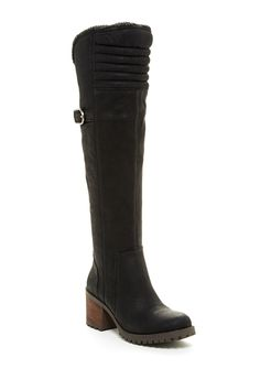 Narlee Faux Fur Lined Over-The-Knee Boot by Lucky Brand on @HauteLook