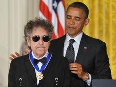 Bob Dylan und Barack Obama
