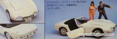 "James Bond doyasha figure models | You Only Live Twice"" Model Kit (Scale 1:24) Contains Toyota 2000GT ..."