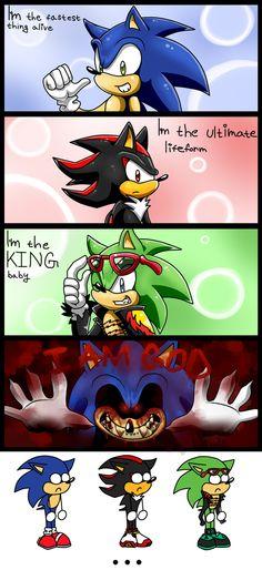 Sonic stupid mini comic by Kyuubi83256