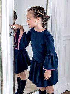 Cold Shoulder Dress, Dresses With Sleeves, Long Sleeve, Fashion, Kids Fashion, Vestidos, Dressmaking, Moda, Sleeve Dresses