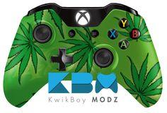 Friendly 420 Custom Modded Xbox One Controller - KwikBoy Modz #customcontroller #moddedcontroller #customxboxonecontroller #friendly420 #420 #420controller #weed #weedcontroller #potleaf #pot #xboxone #xboxonecontroller