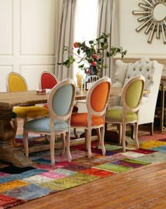 Marvelous Décor: Eclectic Dining room ideas