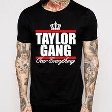 Taylor Gang camisetas homens de manga curta de algodão homens Top O pescoço transporte Euro tamanho cobre T(China (Mainland))