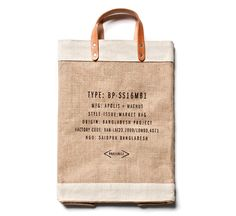 Eco-friendly and completely functional, the Apolis Global Reusable Market Bag is handcrafted in Bangladesh and finished in California. It's the perfect shopping bag for trips to the farmer's market or...