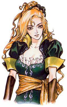 Castlevania - SOTN (Symphony of the Night - 1997 - Konami)  - Maria Renard. Designed by: Ayami Kojima
