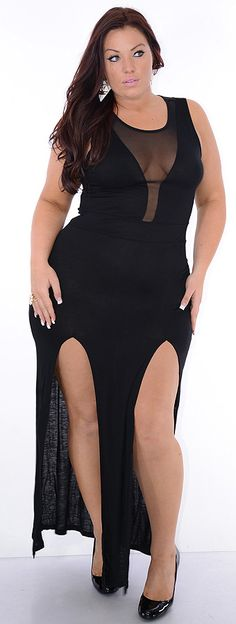 Wasabi (Plus/Black)-Great Glam is the web's best sexy plus size online store clothing website for 1X 2X and 3X clothes for women and juniors.