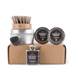 Basic Beard Care Kit  Temperance Beard Oil Flask ** See this great product.Note:It is affiliate link to Amazon. #my