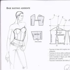 Corset Sewing Pattern, Dress Sewing Patterns, Clothing Patterns, Free Printable Sewing Patterns, Sewing Collars, Refashion Dress, Pattern Draping, Sewing Blouses, Pattern Cutting