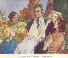 House at the Corner by Enid Blyton, 1949 Mary Bell, Enid Blyton Books, Bad Father, Feeling Unwanted, Traditional Tales, Who Book, Other Mothers, School Play, Book Illustrations