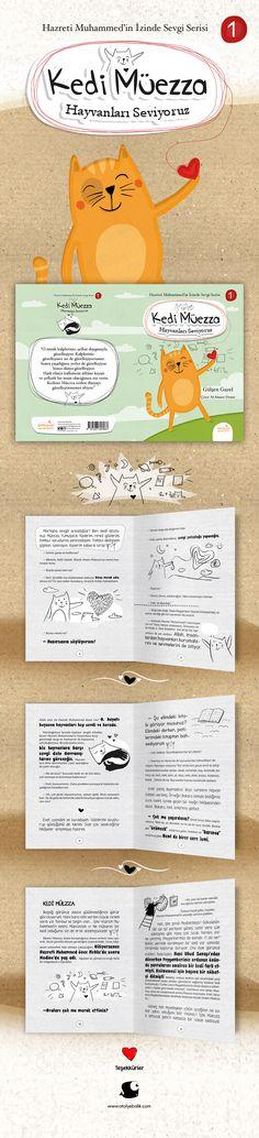 Kedi Müezza, çocuk kitabı, kitaplar için kedi resimleri, kids book and new book. Cover design. Book Covers, Map, Books, Libros, Location Map, Book, Maps, Book Illustrations, Cover Books