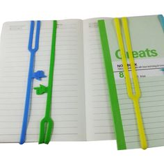 1pcs Silicone Bookmarks Note Pad Memo Stationery Book Mark Novelty Funny Gift | eBay