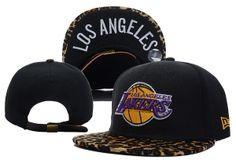 Los Angeles Lakers hats New Era Black Leopard NBA hats 205d88ee5dc