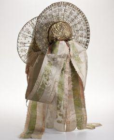 Riedlinger bonnet, c. 1830, Germany.