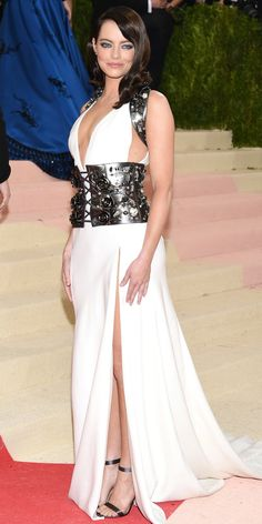 See All the Best Looks from the 2016 Met Gala Red Carpet - Emma Stone - from InStyle.com