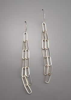 FEMME METALE Chain Gang Earrings