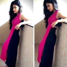 mouni roy's clothes in nagini - Google Search Indian Star, Indian Ethnic, Perfect Figure, Little Fashion, Malu, Western Dresses, Indian Designer Wear, Celebs, Celebrities