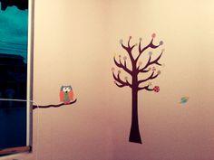 Pintura feita à mão na parede