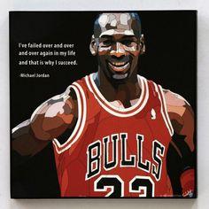Michael Jordan Wall Art Decals Quotes door WallArtDecalsQuotes