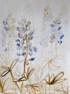 Bluebonnet II by Mary Jo Major