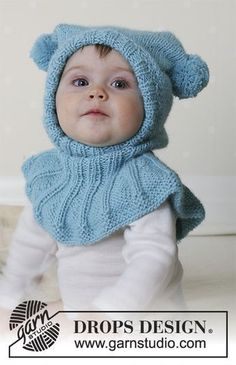 Funny jester / DROPS baby - free knitting patterns by DROPS design Free knitting instructions Knitting , lace processing is essentially the most beautiful hobbies that women can not give . Baby Knitting Patterns, Baby Patterns, Crochet Patterns, Diy Crafts Knitting, Knitting Blogs, Free Knitting, Crochet Pullover Pattern, Beanie Pattern, Drops Design