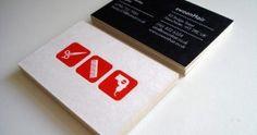 Carte De Visite Originale Pour Salon Coiffure Cartes Originales
