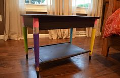 Cute Table Makeover - Create, Teach, and Share: Classroom Creation