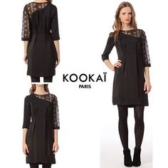Robe noire kookai 2012