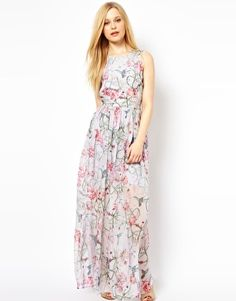French Connection - Eden - Maxi robe imprimée