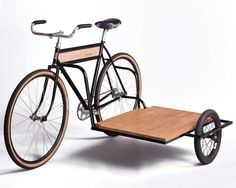 Carrying your load with your bike can't be difficult, you need to use a cargo bike or a sidecar bike just like this unit from Horse. This Sidecar Bicycle Bici Retro, Velo Retro, Velo Vintage, Vintage Bicycles, Velo Design, Bicycle Design, Custom Motorcycles, Custom Bikes, Custom Choppers