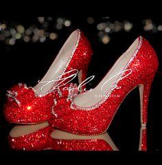 Zapatos de novia rojos - 2013dorothyweb