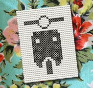 Cross Stitch Scooter
