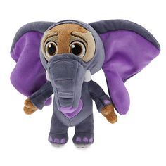 Ele-Finnick Plush - Zootopia - Mini Bean Bag - 7'' | Disney Store