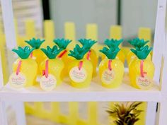 Favors from Tropically Flamingo Themed Birthday Party at Kara's Party Ideas. See…