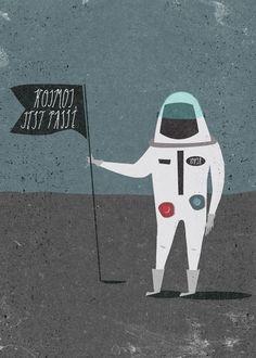 Plakat Kosmos jest passe